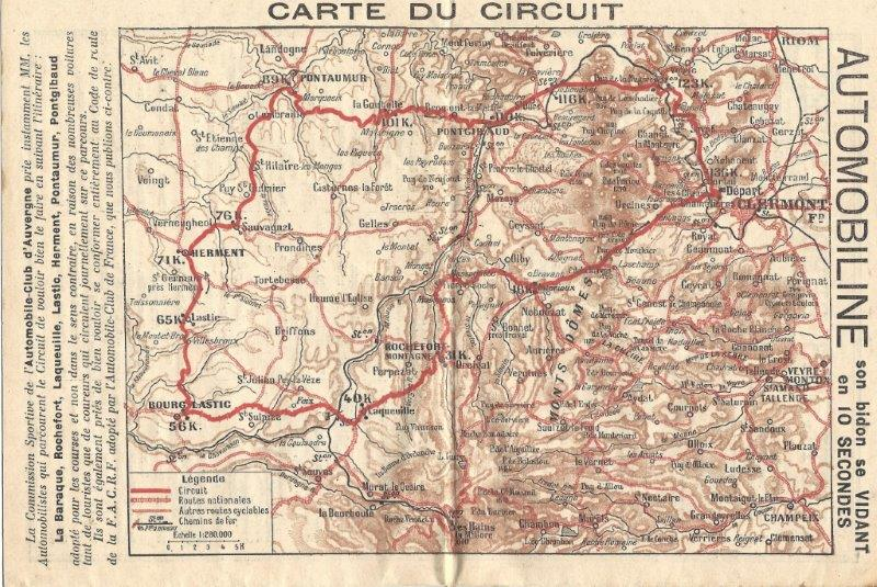 Circuit gordon bennett 1905